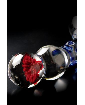 Gode verre Icicles n° 18 - Godes pyrex, verre