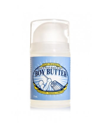 Lubrifiant Boy Butter H2O Pump 59 ml - Lubrifiants intimes