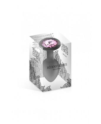 Plug bijou silicone noir S 30gr - Hidden Eden - Plugs , anus pickets