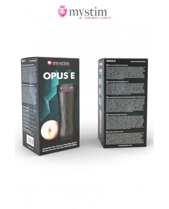 Masturbateur électro-stimulant Opus E vagin - Masturbateurs homme