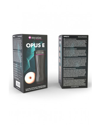 Masturbateur électro-stimulant Opus E donut - Masturbateurs homme