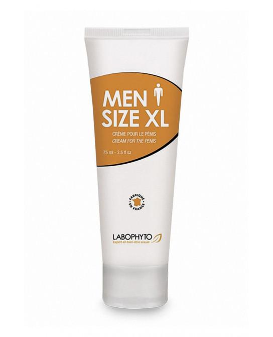 Men Size XL crème développante (75 ml) - Allongement du pénis