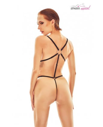 Body harnais noir Belleza - Anaïs - Body et top