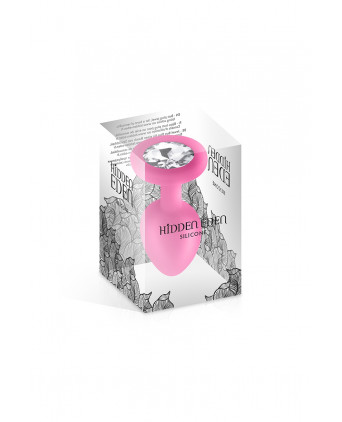Plug bijou silicone rose S 30gr - Hidden Eden - Plugs , anus pickets