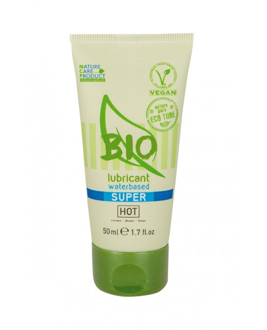 Lubrifiant HOT BIO Super 50 ml - Lubrifiants base eau
