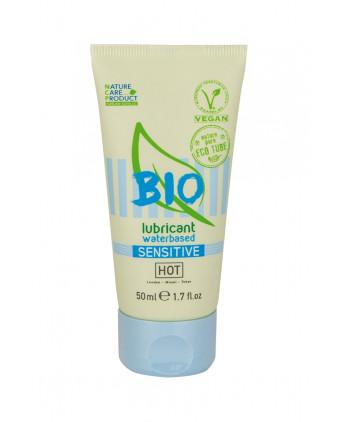 Lubrifiant HOT BIO Sensitive 50 ml - Lubrifiants base eau