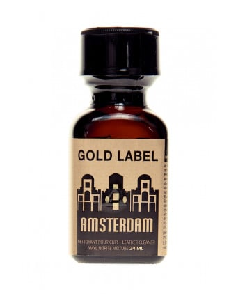 Poppers Amsterdam Gold Label 24 ml - Poppers