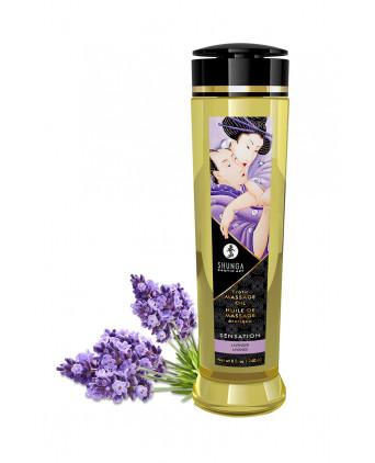 Huile de massage parfum lavande - Shunga - Massages érotiques