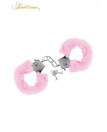 Menottes de poignets rose - Sweet Caress - Attaches, contraintes