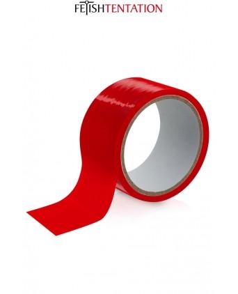 Ruban de soumission rouge 15m - Fétish Tentation - Accessoires SM