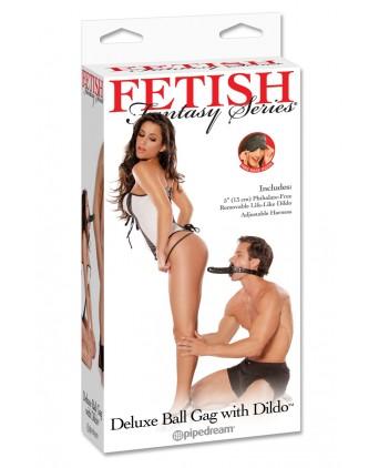 Baillon BDSM avec Gode - Godemichets