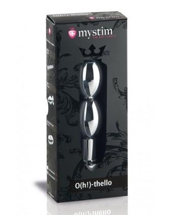 Mystim O(h!)-thello Oval Dildo - Électro-stimulation