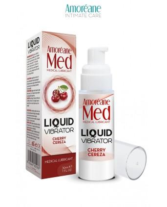 Lubrifiant Liquid Vibrator Cerise 30ml - Amoreane Med - Import busyx