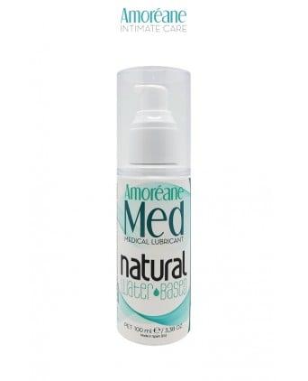 Lubrifiant naturel base eau 100ml - Amoreane Med - Import busyx