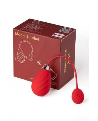 Oeuf vibrant connecté Magic Sundae - Magic Motion - Oeuf vibrant