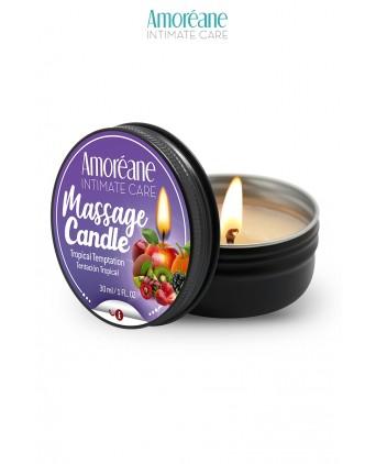 Bougie de massage fruit exotique - Amoreane - Massages érotiques