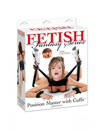 Harnais multi fonctions Position Master - Fetish Fantasy Series - Attaches, contraintes