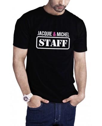 T-shirt Jacquie et Michel Staff - noir - T-shirts Homme