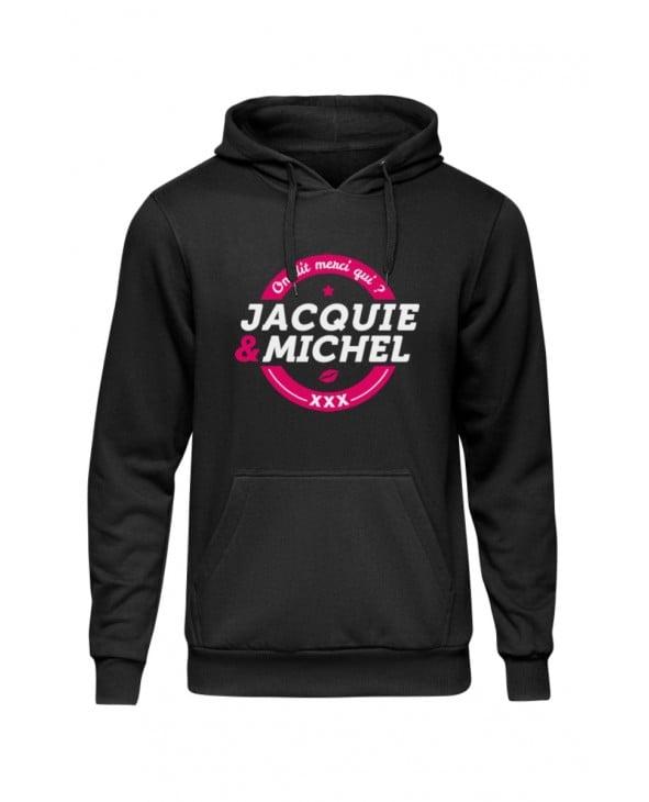 Sweat à capuche J&M logo rond - Sweats Homme