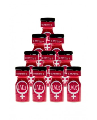 Pack 10 Poppers Lady 10ml - Poppers