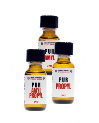 Pack Pur JOLT 3 poppers - Poppers