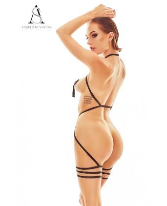 Harnais lingerie Ostenia - Angels Never Sin - Fetish et Glamour