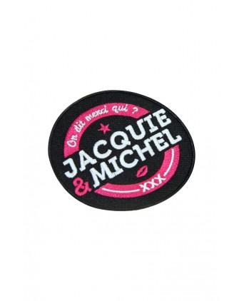 Écusson rond Jacquie et Michel - Écussons