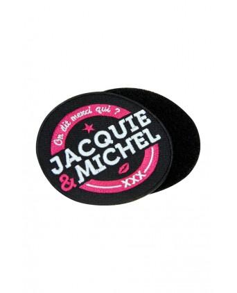 Écusson rond velcro Jacquie et Michel - Écussons