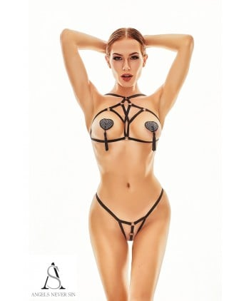Harnais lingerie Xantho - Angels Never Sin - Ensembles sexy