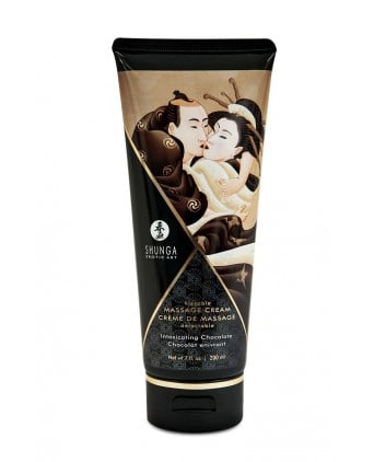Crème de massage délectable chocolat enivrant -  Shunga