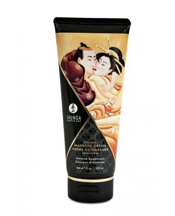 Crème de massage délectable douceur d'amande -  Shunga