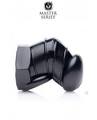 Cage de chasteté restrictive noire - Master Series - Cock and Balls