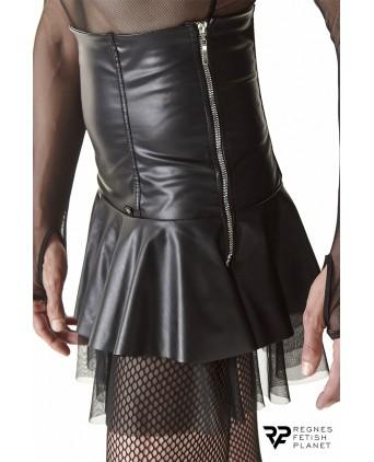 Jupe noire taille haute - Regnes - Prêt à porter