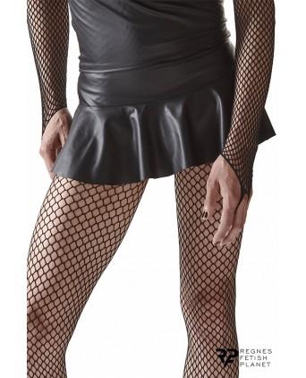 Mini jupe noire avec dos court - Regnes