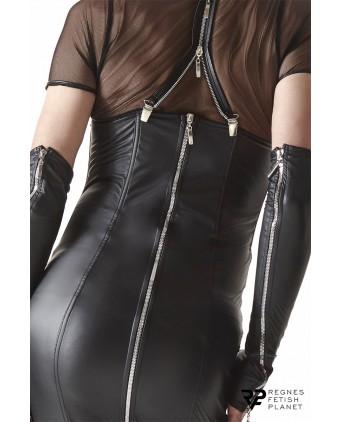 Robe zippée à bretelles amovibles - Regnes