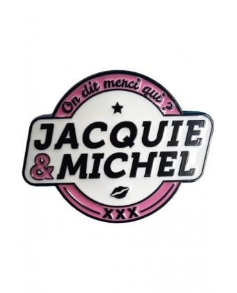 Pin's Jacquie et Michel - Pin's