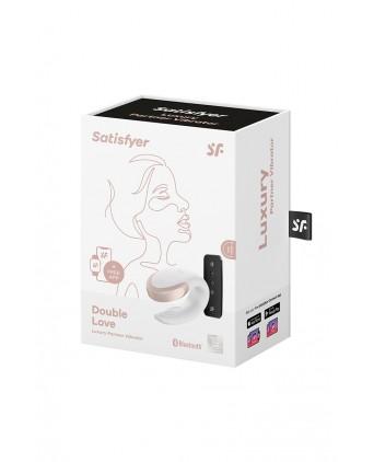 Stimulateur Double Love blanc - Satisfyer - Sextoys connectés