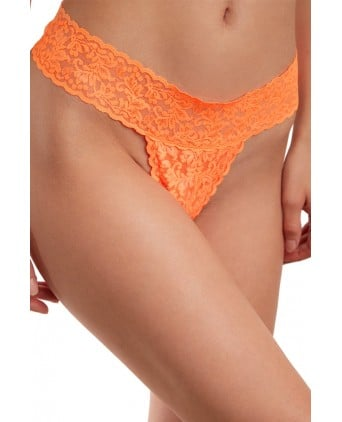 Culotte vibrante télécommandée Secret Panty 2 orange fluo - Culottes vibrantes