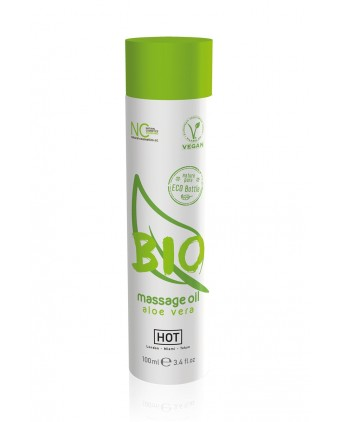 Huile de massage BIO aloe vera - HOT - Import busyx