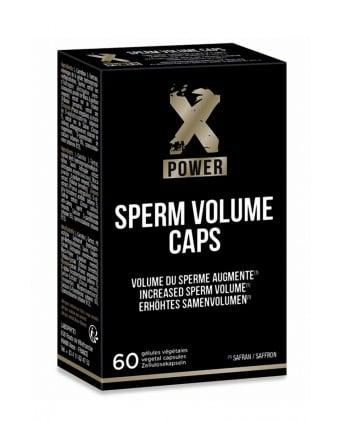 Sperm Volume Caps (60 gélules) - XPower - Import busyx