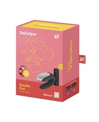 Stimulateur Double Fun noir - Satisfyer - Import busyx