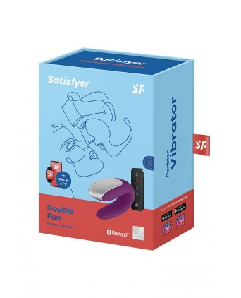 Stimulateur Double Fun violet - Satisfyer - Import busyx