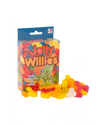 Bonbons pénis Jelly Willies - Import busyx
