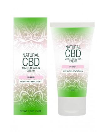 Crème de masturbation Femme - Natural CBD - Crêmes de masturbation