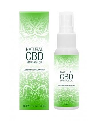 Huile de massage 50ml - Natural CBD - Import busyx