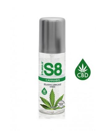 Lubrifiant S8 Hybride Cannabis 125ml - Lubrifiants base eau