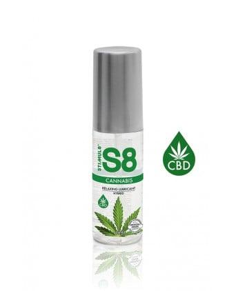 Lubrifiant S8 Hybride Cannabis 50ml - Lubrifiants base eau