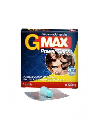 G-Max Power Caps Homme (1 gélule) - Aphrodisiaques homme
