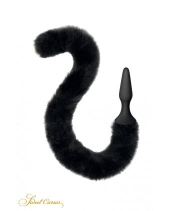 Plug noir queue de chat - Sweet Caress