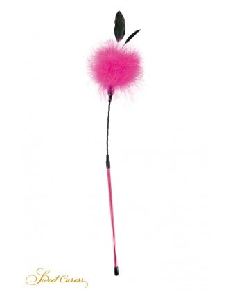 Plumeau à caresses rose - Sweet Caress - Import busyx